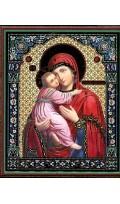 УТВАРЬ Икона на оргалите Пресвятая Богородица...